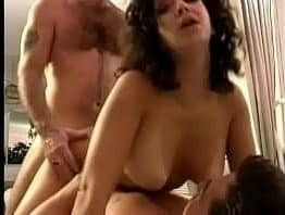 EVA ANGELINA Fucks Steve Drake and Peter North Cock for Cash